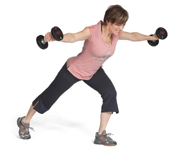 Lunge tri-fly