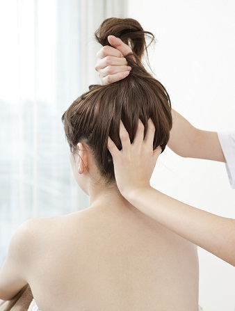 Massage For Damaged Hair