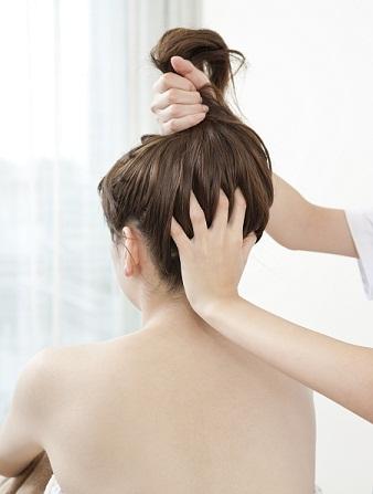 Massage For Damaged Hair