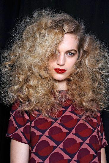 Messy Curls