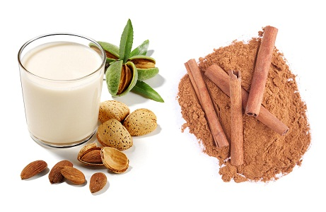 Milk Almond and Cinnamon Face Pack