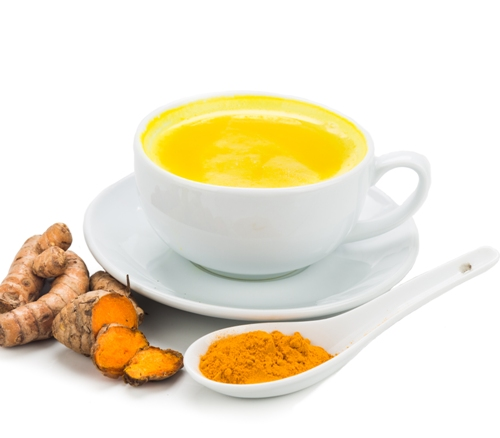 Milk and Turmeric