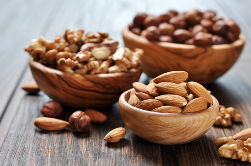 Nuts Food For Healthy Hair Roots