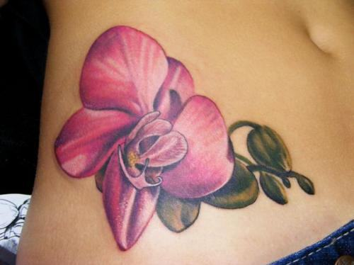 Orchids Tattoo Designs