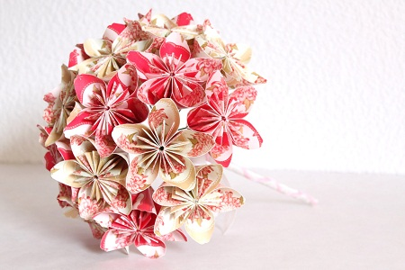 origami-flowers-wedding-anniversary-gifts-for-wife
