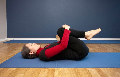 Wind-relieving Pose Or Pavanmukta Asana For Constipation