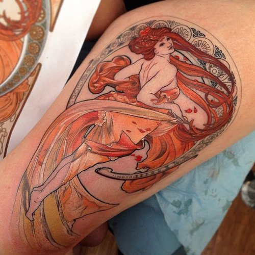 100 popular tattoo designs and meanings for men women for Pinup girl tattoos