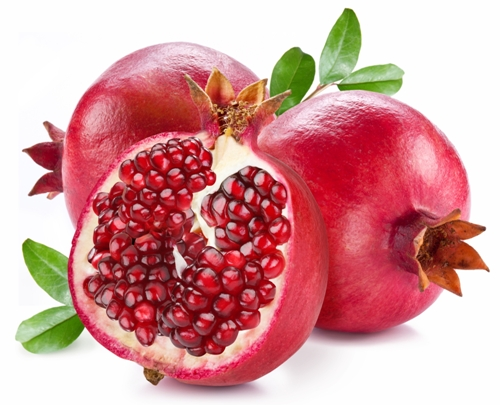 Pomegranate for acne