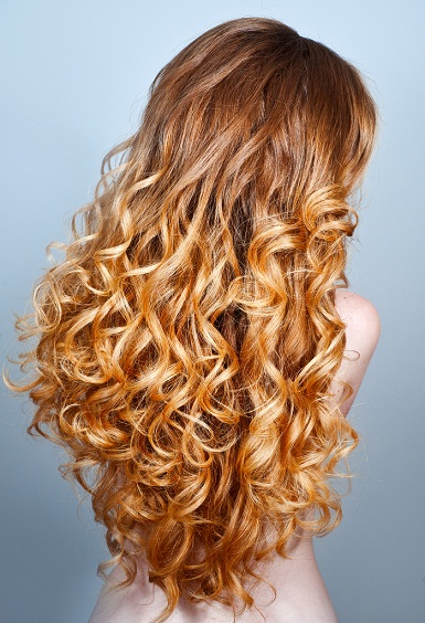 Thick Shiny Curls