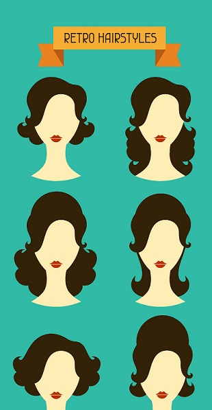 Retro hairstyles - MAin