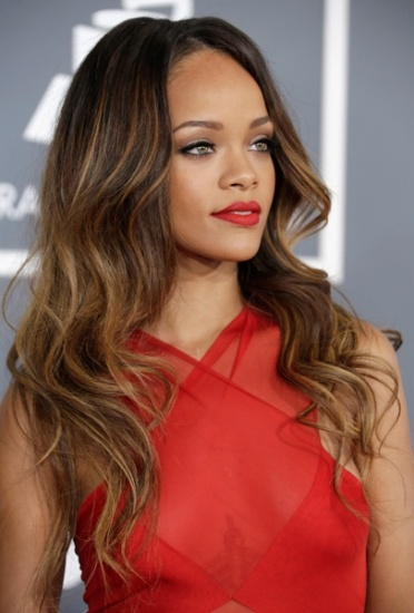 How to do ombre lips styles at life rihanna ombre lips urmus Gallery