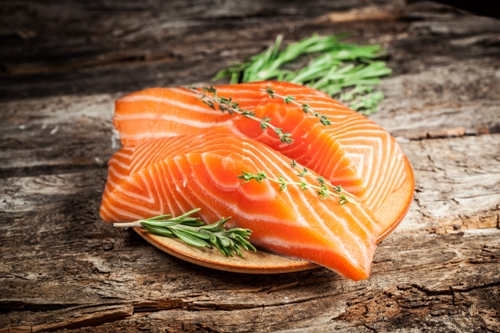 Healthy Food For Hair Fish