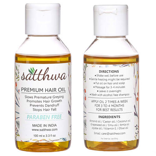 Satthwa Premium Hair Oil
