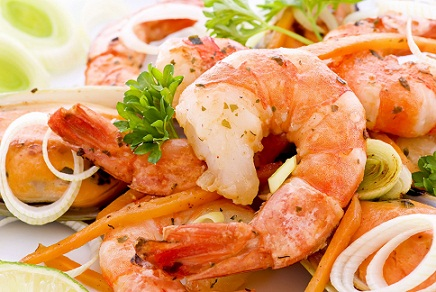 Healthy Foods For Hair Shrimps