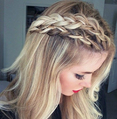Simple and Easy Braid Hairstyles 18