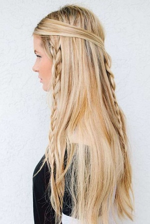 Simple And Easy Braid Hairstyles 30