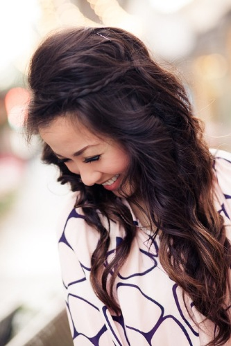 Simple Hairstyle For Occasion : Easy and simple hairstyles for long hair styles at life
