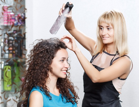 Spray for hair Straightening At Home