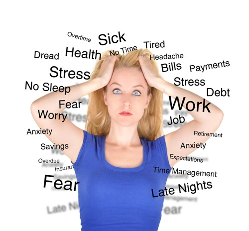 Stress can be reduced by playing sport