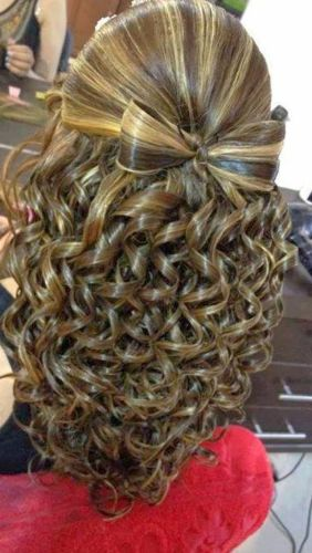 Swirls Curly Hairstyle