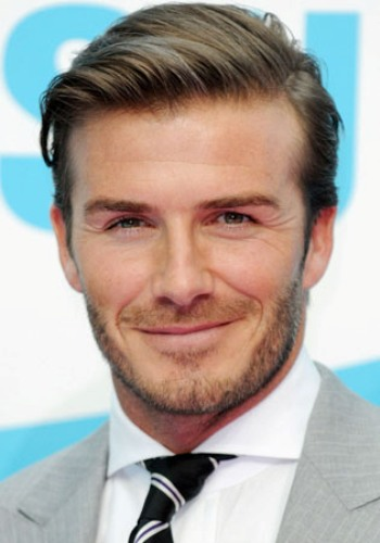 The Charming Side-Parted Brushed Up Men's Hairstyle