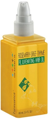 The Natures Co-Rosemary-Sage-Thyme Rejuvenating Hair Oil