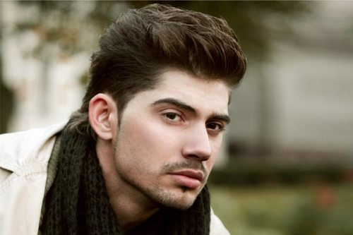 The Relaxed Pompadour Men's Haircut