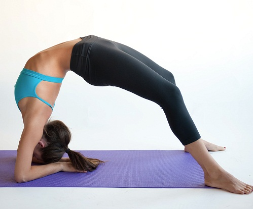 The Upward Bow Pose