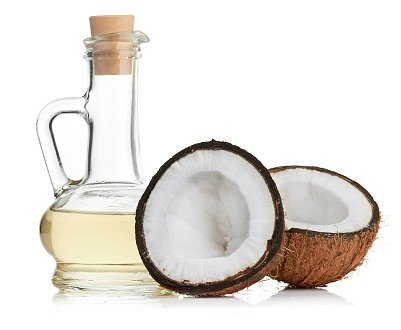 Use Coconut Oil for shiny hair