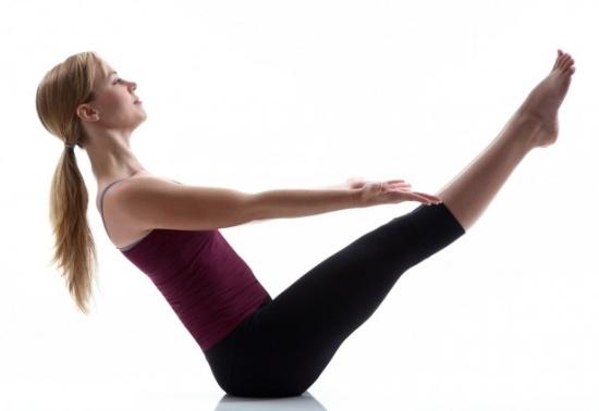 Belly fat exercise - Verticla Leg Crunch