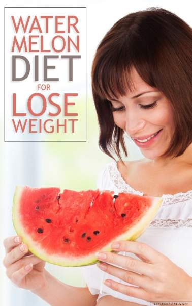 5 Day Watermelon Diet Plan For Quick Weight Loss !