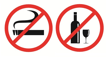 avoid Smoking and drinking for height
