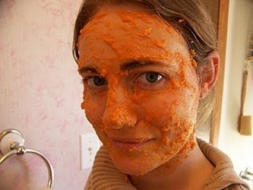 Carrot Mask Face Packs For Clear Skin