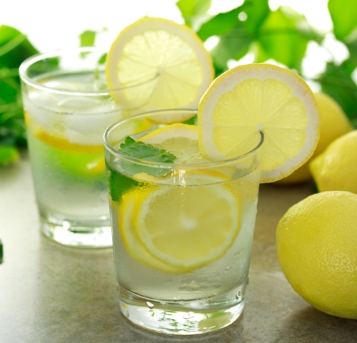 How To Make Silky Hair lemon water