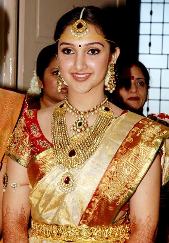 telugu bridal makeup