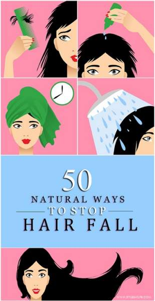 Home Remedies For Hair Fall control