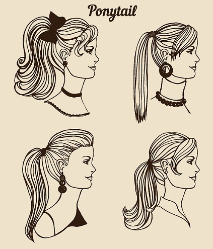 asian ponytail hairstyles