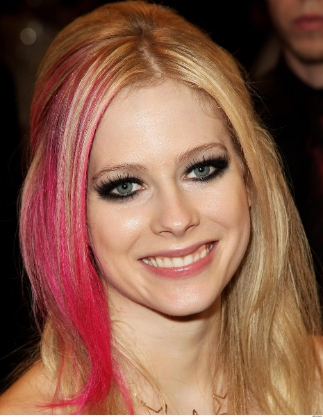 avril lavigne eye makeup