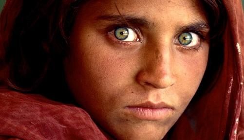 Beautiful Eyes in the World - Sharbat Gula