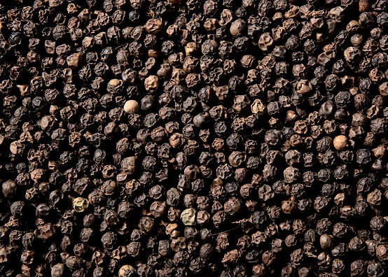 Black pepper for gray hair