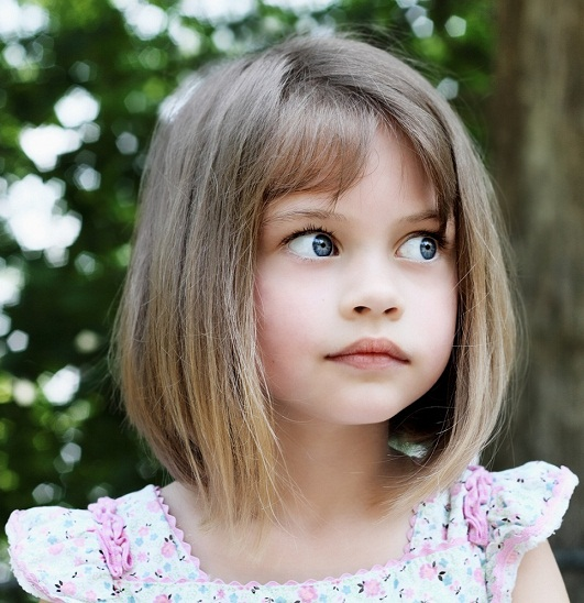 Fine 9 Best Bob Haircuts For Kids Styles At Life Hairstyles For Women Draintrainus