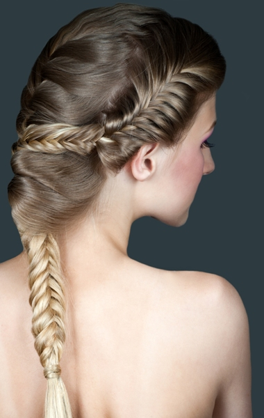 Long Braided Bangs - braids for bangs