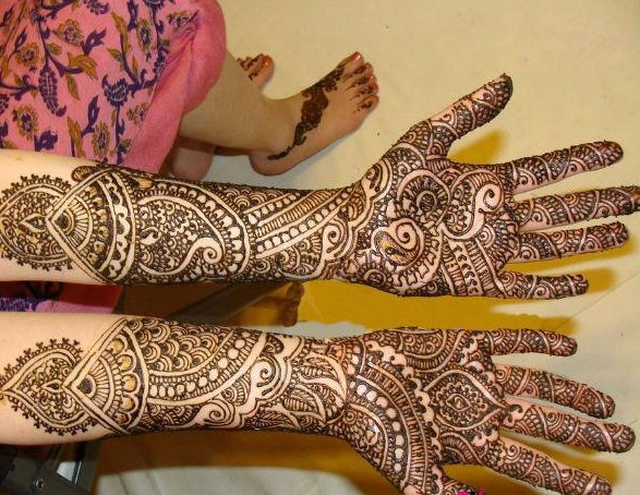 Mehndi Design For Bridal Collection : Best bridal mehndi designs with images styles at life