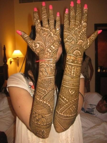 Full Hand Bridal Mehendi Designs