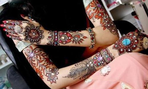 Bridal Mehndi Designs 8