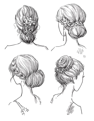 Bun hairstyles Main
