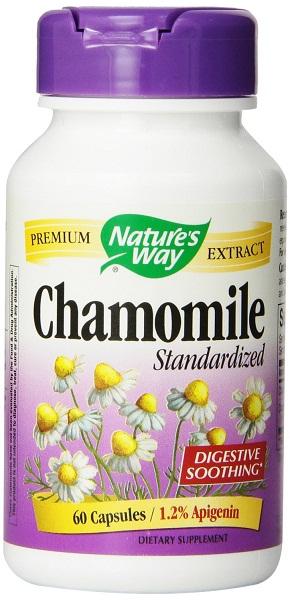 Chamomile capsules