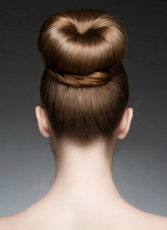 The Elegant Bun Hairstyle