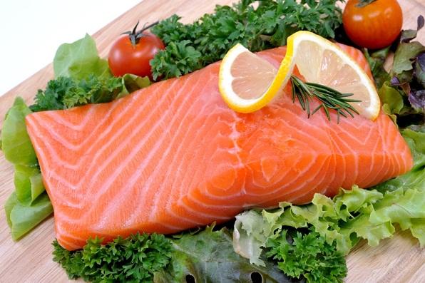 Fatty fishes salman