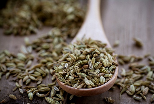 Fennel seeds for obesity